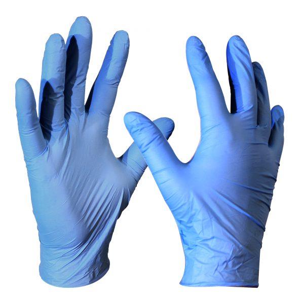 guante de nitrilo para examinación