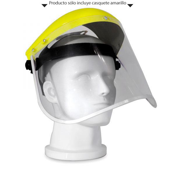 casquete porta visor